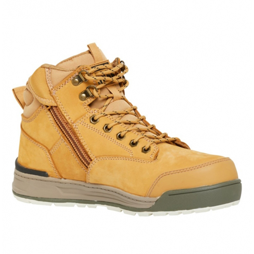 3056 Side Zip Mens Boot - Wheat