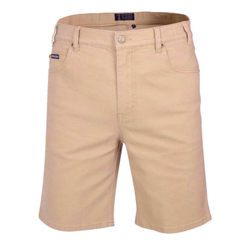 Mens Cotton Stretch Jean Shorts