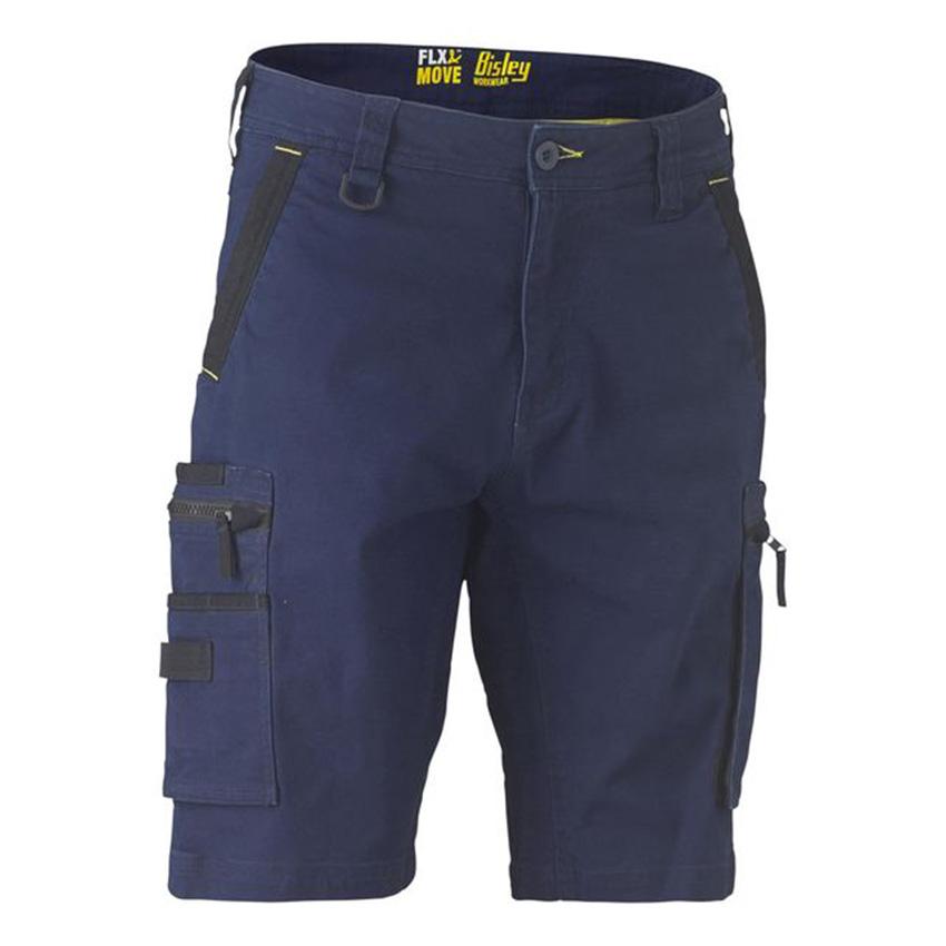 FLX & MOVE™ Stretch Utility Zip Cargo Mens Short
