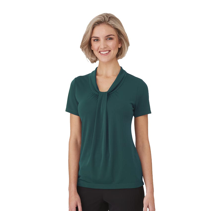 Pippa Knit Short Sleeve Ladies Shirt