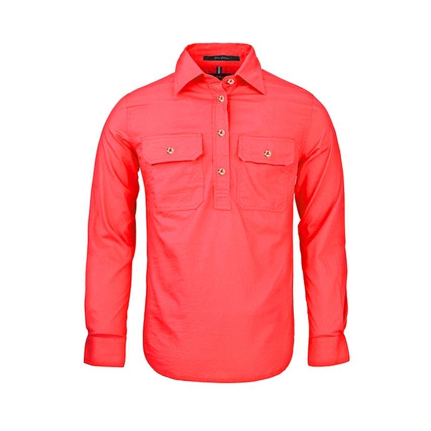 Pilbara Closed Front Long Sleeve Ladies Shirt