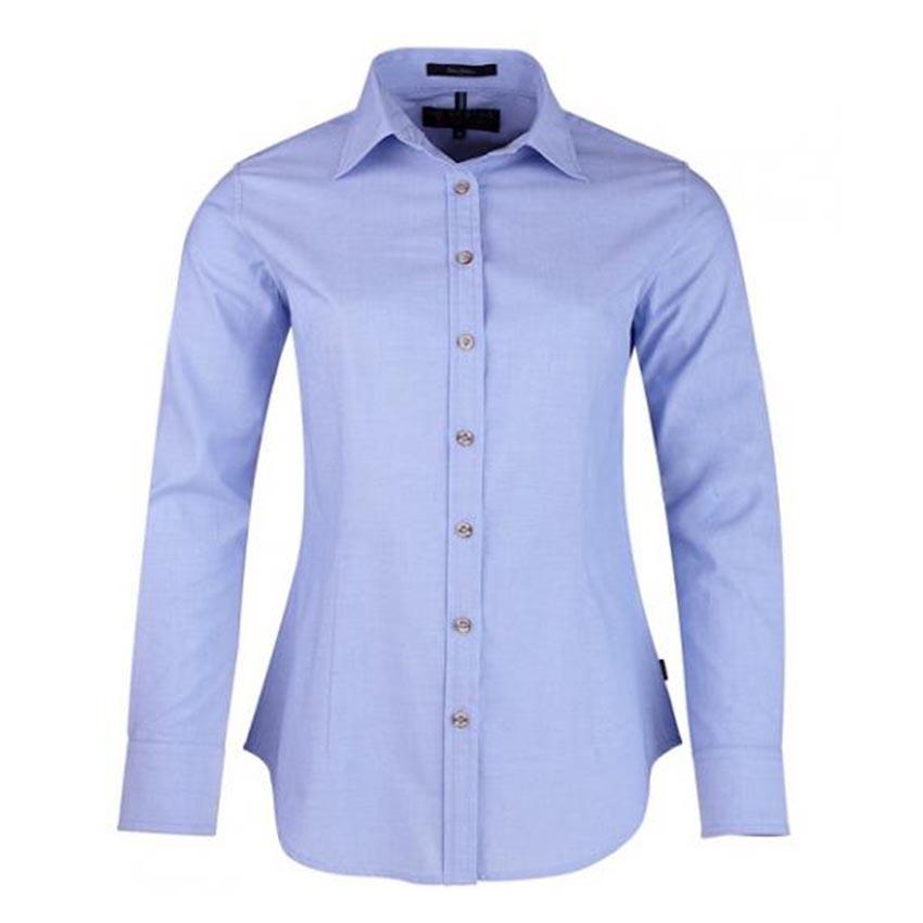 Pilbara Ladies Chambray Long Sleeve Shirt