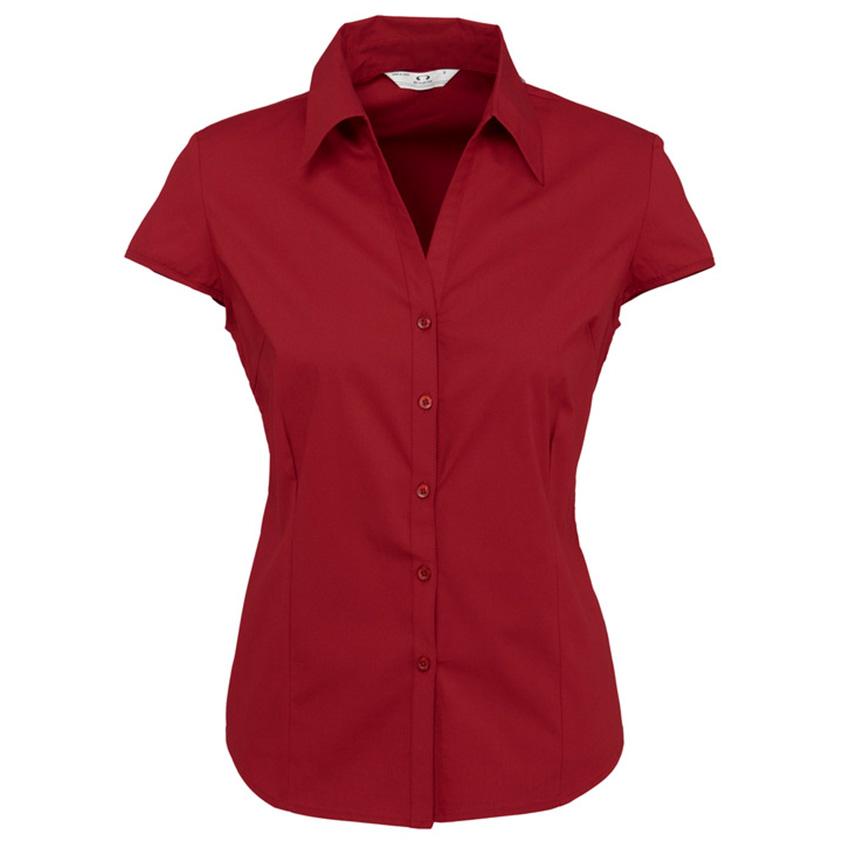 Metro Cap Sleeve Ladies Shirt