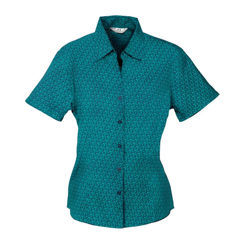 Oasis Print Short Sleeve Ladies Shirt
