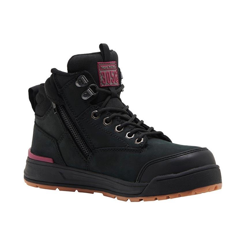 3056 Side Zip Ladies Boot - Black