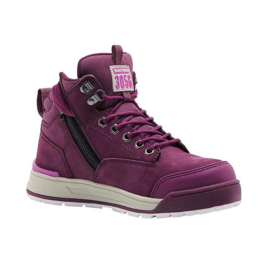 3056 Side Zip Ladies Boot - Shiraz