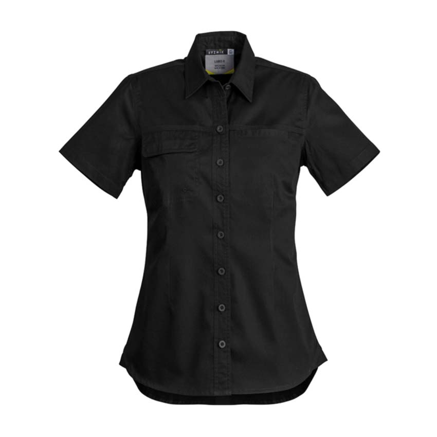 Lightweight Tradie Short Sleeve Ladies Shirt