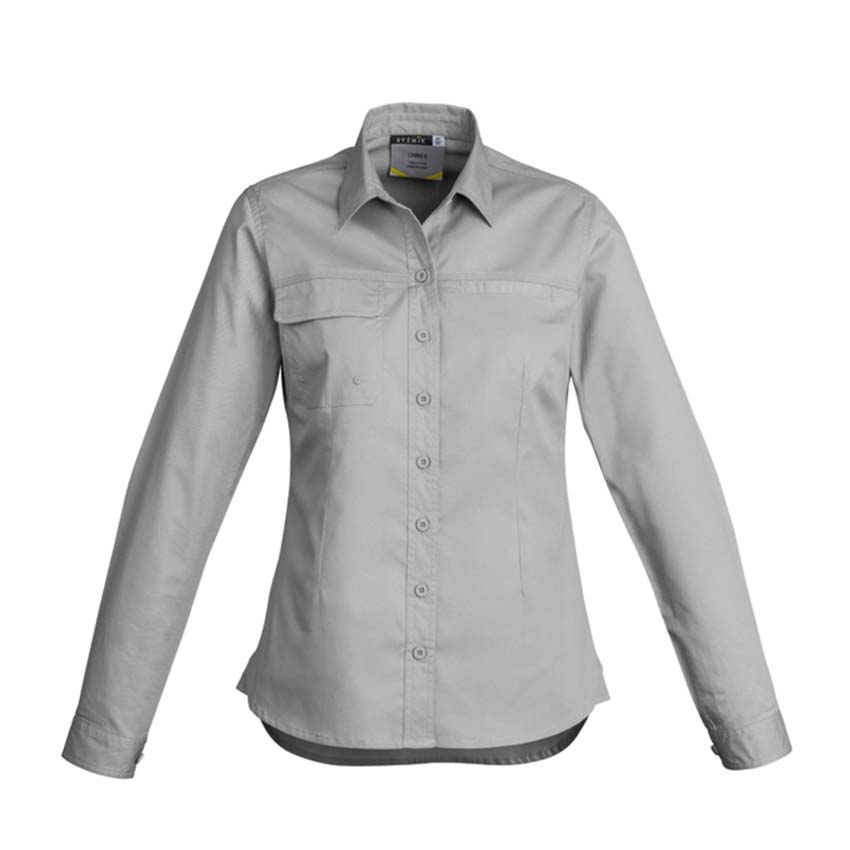 Lightweight Tradie Long Sleeve Ladies Shirt